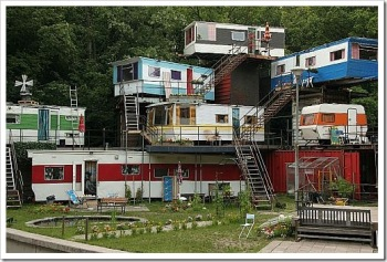 Trailer Park Treehouse