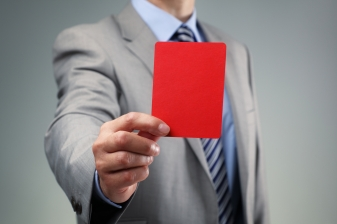 red card - suit