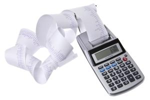 calculator paper