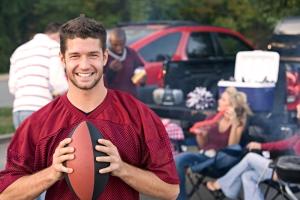 football tailgate