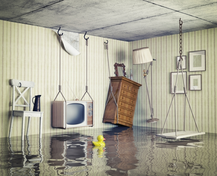 watery apartment