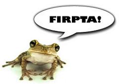FIRPTA frog