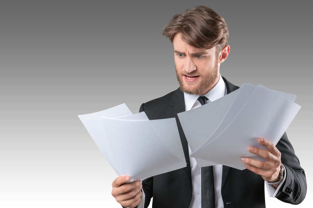 paperwork confusion