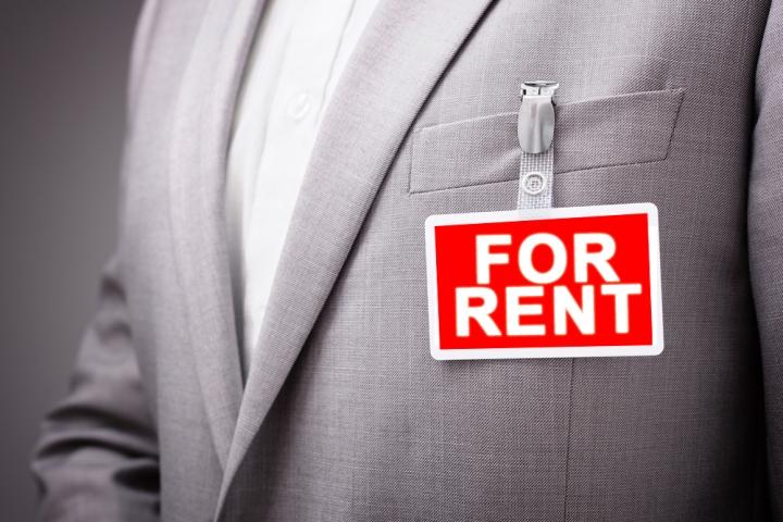 businessman nametag for rent