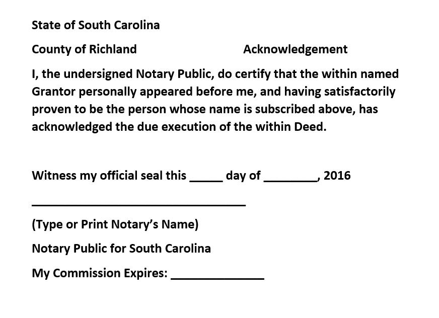 notary public – Let's Talk Dirt