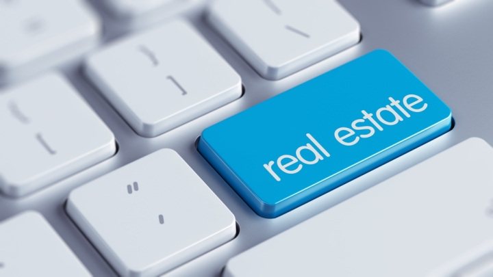 real estate button keyboard