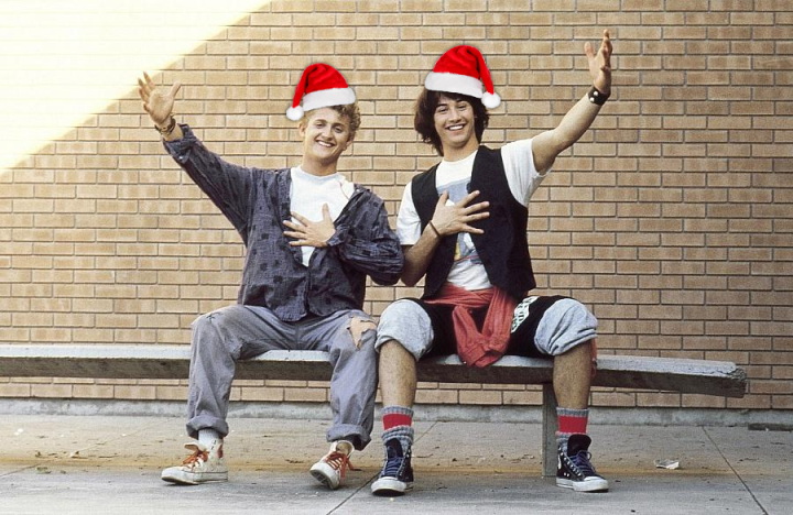 Bill and Ted christmas