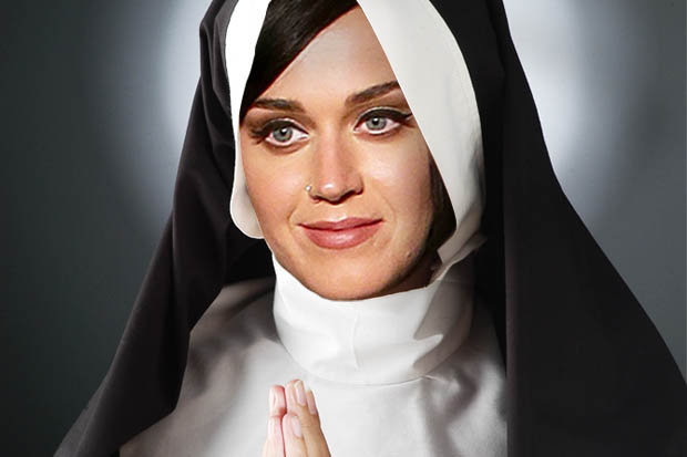 katy perry nun