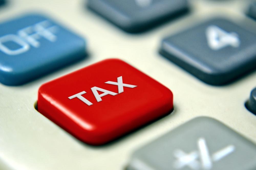 tax button calculator