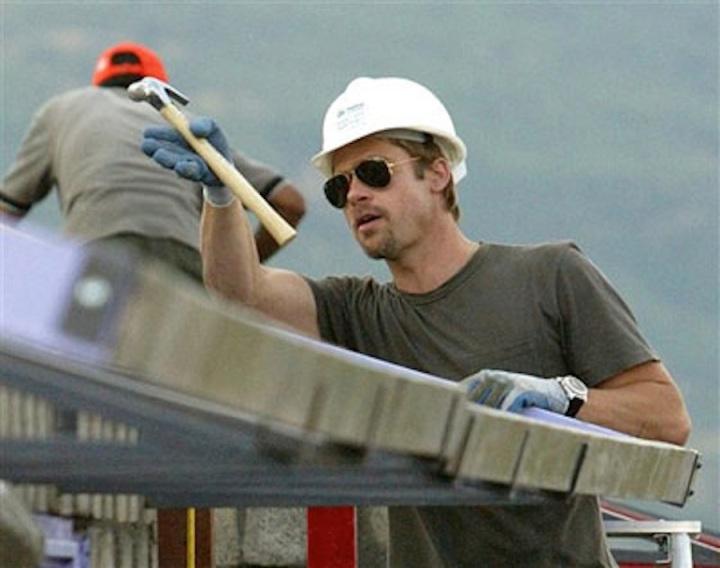Brad Pitt construction 2