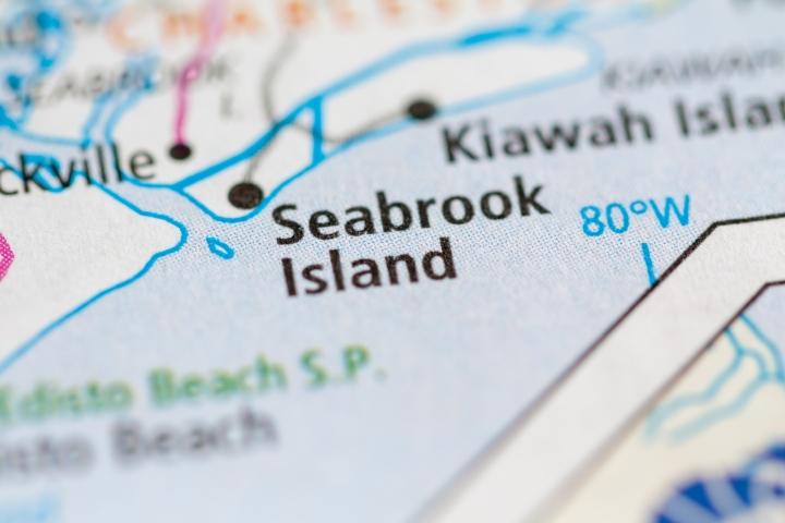 Seabrook Island map