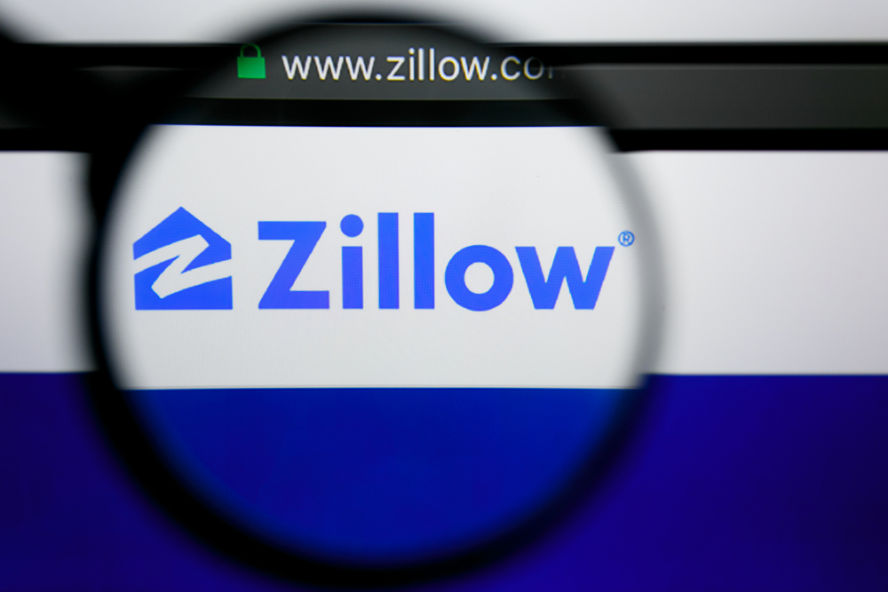 zillow logo magnified